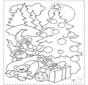 Gnomos y árbol navideño