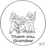 Manualidades - Gracias abuelo