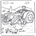 Diversos - Granjero y granjera