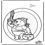 Temas - Halloween - Adorno de ventana 1