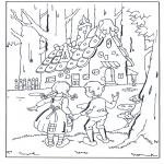 Diversos - Hansel y Gretel en la casita de chocolate
