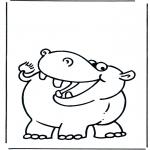 Animales - Hipopótamo 2