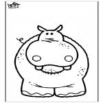 Animales - Hipopótamo 3