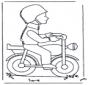 Hombre con motocicleta