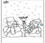 Hombre de nieve 4