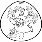 Temas - Huevo de Pascua - Tarjeta perforada 2
