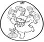 Huevo de Pascua - Tarjeta perforada 2