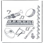 Diversos - Instrumentos de música