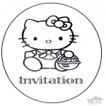 Manualidades - Invitación a cumpleaños