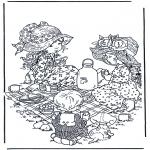 Diversos - Invitación al té