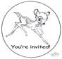 Invitación de Bambi