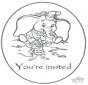 Invitación de Dumbo