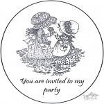 Manualidades - Invitación de Sarah Kay 2