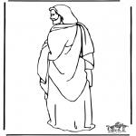 Dibujos de la Biblia - Jesús 1
