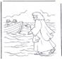 Jesús camina sobre el agua
