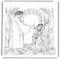 Jesús y la mujer enferma