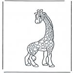 Animales - Jirafa 2
