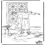 Dibujos de la Biblia - José en Egipto