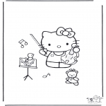 Diversos - Kitty con el violín
