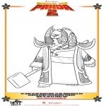 Personajes - Kung Fu Panda 2 Dibujo 3