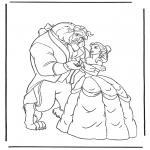 Personajes - La Bella y la Bestia 3