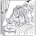Láminas de la Biblia - La hija de Jair 1