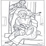 Dibujos de la Biblia - La hija de Jair 3