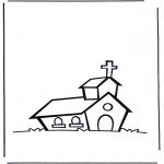Dibujos de la Biblia - La Iglesia 1