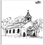 Dibujos de la Biblia - La Iglesia 2