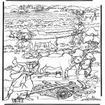 Dibujos de la Biblia - La nueva tierra 2