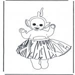 Dibujos Infantiles - Lala con Falda