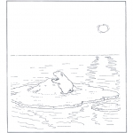 Dibujos Infantiles - Lars el osito polar 1