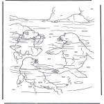 Dibujos Infantiles - Lars el osito polar 2