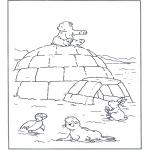 Dibujos Infantiles - Lars el osito polar 4