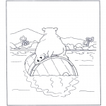 Dibujos Infantiles - Lars el osito polar 5