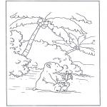 Dibujos Infantiles - Lars el osito polar 7