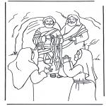 Láminas de la Biblia - Lázaro