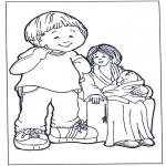Dibujos Infantiles - Madre y niños 2
