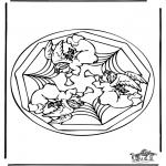 Mandalas - Mandala de ángel