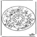 Mandalas - Mandala de animales 1