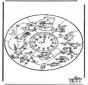 Mandala de animales 1