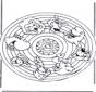 Mandala de animales 2