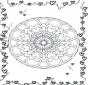 Mandala de Corazones 3