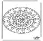Mandala de Corazones 6