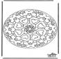 Mandala de Corazones 7