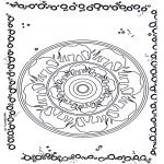 Mandalas - Mandala de Elefantes