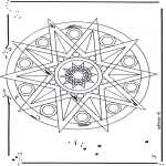 Mandalas - Mandala de Estrella 1