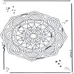 Mandalas - Mandala de Estrella 2