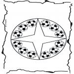 Mandalas - Mandala de Fútbol