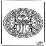 Mandalas - Mandala de insecto